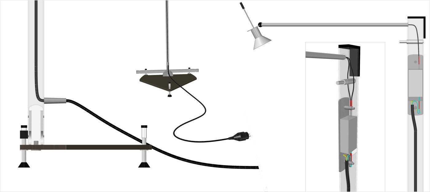 Produktdesign Ausstellungssystem
